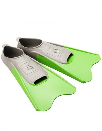 Ласты для плавания в бассейне POOL COLOUR SHORTЛасты для плавания<br>Короткие резиновые тренировочные ласты. Каждый цвет ласты соответствует определенному размеру для удобства группового использования в бассейне.<br><br>Размер: 26-29<br>Цвет: Зеленый