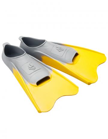 Ласты для плавания в бассейне POOL COLOUR SHORTЛасты для плавания<br>Короткие резиновые тренировочные ласты. Каждый цвет ласты соответствует определенному размеру для удобства группового использования в бассейне.<br><br>Размер: 30-33<br>Цвет: Желтый