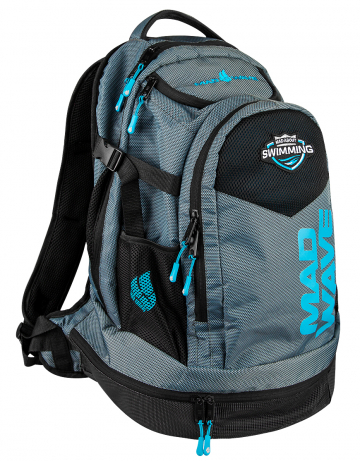 Рюкзак сумка для бассейна LANEРюкзаки и сумки<br>Рюкзак для плавательного инвентаря. Укрепленное дно. Отделение в днище сумки для обуви. Карабин для подвески рюкзака. Отделение сзади для крупного инвентаря<br><br>Размер: 40x30x55 cm<br>Цвет: Черный