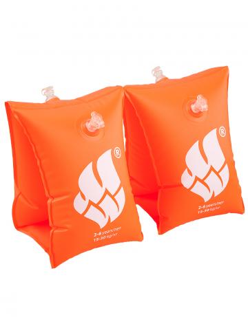 Нарукавники для плавания BASICНарукавники<br>Сделаны из высококачественного ламинированного низкофталатного ПВХ с безопасными клапанами. Соответствуют всем европейским стандартам безопасности.<br><br>Размер RU: 0-2<br>Цвет: Оранжевый