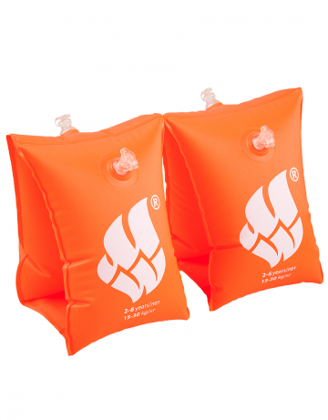 Нарукавники для плавания BASICНарукавники<br>Сделаны из высококачественного ламинированного низкофталатного ПВХ с безопасными клапанами. Соответствуют всем европейским стандартам безопасности.<br><br>Размер RU: 2-6<br>Цвет: Оранжевый