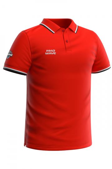 Спортивная футболка SOLIDS Men PoloФутболки<br>Мужская футболка-поло с коротким рукавом. Приталенный силуэт.<br><br>Размер INT: S<br>Цвет: Красный