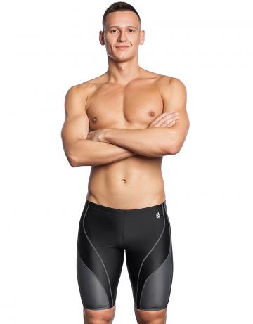 Мужские плавки джаммеры для плавания SPURTДжаммеры<br>Джаммеры со средним уровнем талии. Внутри шнурок. Высота бокового шва - 43 см. Подходят для регулярных тренировок.<br><br>Размер INT: M<br>Цвет: Черный