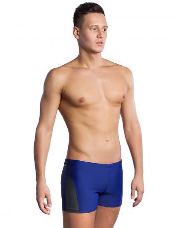 Мужские плавки-шорты COACH PLUSПлавки-шорты<br>Плавки-шорты со средним уровнем талии. Внутри пояса шнурок. Серия ткани Base Xtra Life.<br>Подходит для спортивных тренировок и отдыха<br><br>Размер: 4XL<br>Цвет: Синий