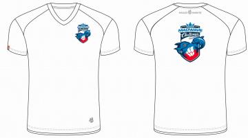 Спортивная футболка MW Challenge MenФутболки<br>Мужская футболка с коротким рукавом. V-образный вырез горловины. Приталенный силуэт. Представлена в нескольких цветах.<br><br>Размер: XS<br>Цвет: Белый