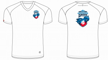 Спортивная футболка MW Challenge MenФутболки<br>Мужская футболка с коротким рукавом. V-образный вырез горловины. Приталенный силуэт. Представлена в нескольких цветах.<br><br>Размер INT: M<br>Цвет: Белый