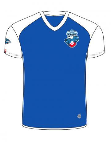 Спортивная футболка MW Challenge MenФутболки<br>Мужская футболка с коротким рукавом. V-образный вырез горловины. Приталенный силуэт. Представлена в нескольких цветах.<br><br>Размер INT: XXL<br>Цвет: Синий
