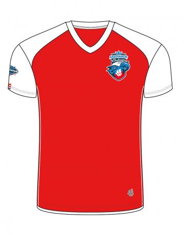 Спортивная футболка MW Challenge MenФутболки<br>Мужская футболка с коротким рукавом. V-образный вырез горловины. Приталенный силуэт. Представлена в нескольких цветах.<br><br>Размер INT: XXL<br>Цвет: Красный