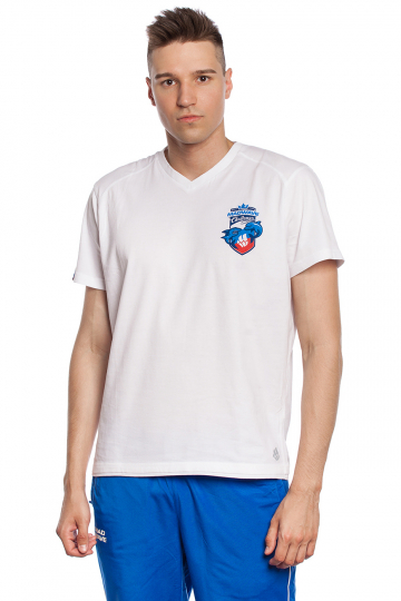 Спортивная футболка MW Challenge MenФутболки<br>Мужская футболка с коротким рукавом. V-образный вырез горловины. Приталенный силуэт. Представлена в нескольких цветах.<br><br>Размер INT: 3XL<br>Цвет: Белый
