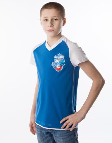Спортивная футболка MW Challenge juniorФутболки<br>Юниорская футболка с коротким рукавом. V - образный вырез горловины.<br><br>Размер INT: S<br>Цвет: Синий