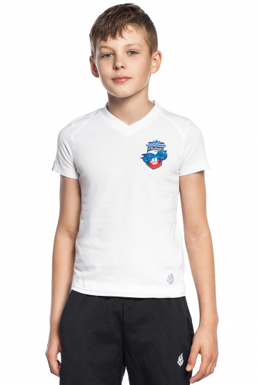 Спортивная футболка MW Challenge juniorФутболки<br>Юниорская футболка с коротким рукавом. V - образный вырез горловины.<br><br>Размер INT: XXL<br>Цвет: Белый