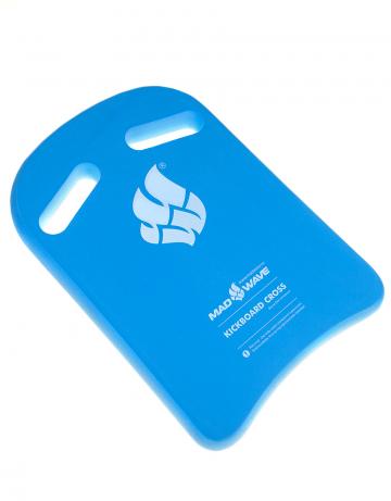 Доска калабашка Kickboard CrossДоски для плавания<br>Высококачественная доска для тренировок.  Специальные вырезы увеличивают плечо захвата и позволяют изменять позицию рук во время тренировок.<br><br>Размер: 38x27<br>Цвет: Синий