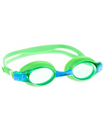 Тренировочные очки для плавания Automatic Multi JuniorТренировочные очки<br>Удобные очки для частых тренировок. Система автоматической регулировки  ремешков (международный патент).<br><br>Размер: None<br>Цвет: Зеленый