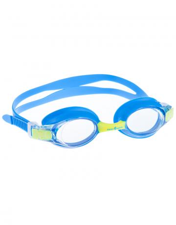 Тренировочные очки для плавания Automatic Multi JuniorТренировочные очки<br>Удобные очки для частых тренировок. Система автоматической регулировки  ремешков (международный патент).<br><br>Цвет: Голубой