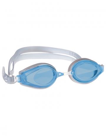 Тренировочные очки для плавания Techno IIТренировочные очки<br>Удобные очки TECNHO II от Mad Wave отлично послужат прекрасным дополнением к частым тренировкам в бассейне. Превосходная посадка, обеспеченная высоким обтюратором и двойным силиконовым ремешком, надежно защитит глаза от протекания и повысит комфорт в использовании. Линзы с защитой от ультрафиолета UV 400 и покрытием от запотевания Антифог.<br><br>Цвет: Серебро