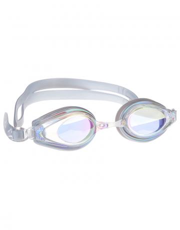 Тренировочные очки для плавания Techno Mirror IIТренировочные очки<br>Удобные очки TECNHO II от Mad Wave отлично послужат прекрасным дополнением к частым тренировкам в бассейне. Превосходная посадка, обеспеченная высоким обтюратором и двойным силиконовым ремешком, надежно защитит глаза от протекания и повысит комфорт в использовании. Зеркальные линзы с защитой от ультрафиолета UV 400 и покрытием от запотевания Антифог.<br><br>Размер: None<br>Цвет: Серебро