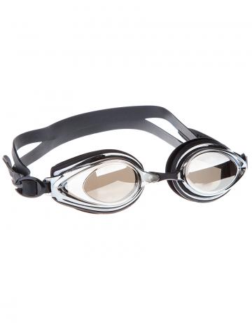 Тренировочные очки для плавания Techno Mirror IIТренировочные очки<br>Удобные очки TECNHO II от Mad Wave отлично послужат прекрасным дополнением к частым тренировкам в бассейне. Превосходная посадка, обеспеченная высоким обтюратором и двойным силиконовым ремешком, надежно защитит глаза от протекания и повысит комфорт в использовании. Зеркальные линзы с защитой от ультрафиолета UV 400 и покрытием от запотевания Антифог.<br><br>Цвет: Черный