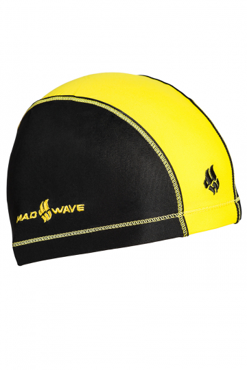 Текстильная шапочка для плавания Lycra DUOTONEТекстильные шапочки<br>Текстильная шапочка для ежедневных тренировок.<br><br>Цвет: Желтый
