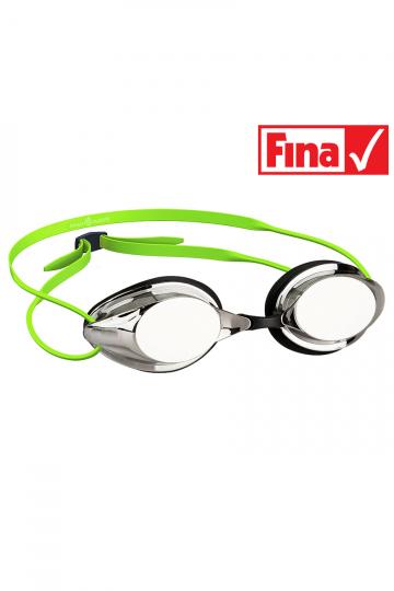 Стартовые очки STREAMLINE MirrorСтартовые очки<br>Усовершенствованные гидродинамические свойства и низкопрофильный дизайн очков Streamline обеспечат максимально эффективное скольжение в воде при наименьшем сопротивлении. Очки оснащены двойным ремешком и низкопрофильным обтюратором для обеспечения надежной фиксации и безопасности при погружении в воду. Линзы имеют защиту от ультрафиолета и специальное покрытие Антифог. В комплекте 3 сменные носовые перемычки.<br>Для обеспечения наивысшего комфорта на стартах, Mad Wave предлагает линзы с широким спектром диоптрий (от -1.0 до -9.0). Линзы поставляются отдельно.<br><br>Цвет: Зеленый