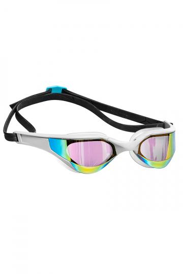 Тренировочные очки для плавания RAZOR RainbowТренировочные очки<br>Очки RAZOR сочетают в себе агрессивный дизайн профессиональных стартовых очков Mad Wave, а также удобство лучших очков для фитнес плавания. Широкий и мягкий обтюратор минимизирует нагрузку на глаза, а инновационная эргономичная конструкция обеспечит превосходную посадку и удобство в использовании. Линзы с защитой от ультрафиолета и покрытием от запотевания Антифог.<br><br>Цвет: Белый