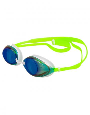 Тренировочные очки для плавания LANE4 RainbowТренировочные очки<br>Очки с зеркальным покрытием, меняющим цвет, для тренировок<br>в бассейне или открытых водоемах. Мягкий обтюратор из ТПР<br>обеспечивает удобную посадку.<br>Защита от ультрафиолетовых лучей. Антизапотевающие стекла.<br>Линзы изготовлены из поликарбоната, обтюратор – термопластичная резина, ремешок – силикон. Три сменные носовые перемычки.<br><br>Цвет: Зеленый