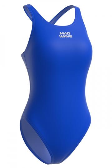 Спортивный купальник для плавания AFRAСпортивные купальники<br>Слитный спортивный купальник со средним вырезом бедра и закрытой спиной с кроем спины Closed Back, благодаря которому уменьшается сопротивление воды, повышается компрессия и не ощущается дискомфорт в движениях. Купальник изготовлен из ткани серии Base Xtra Life - очень эластичной ткани, обладающей повышенной устойчивостью к хлору, высокой износостойкостью и улучшенными компрессионными характеристиками. Купальники из этой ткани лучше облегают тело и сохраняют форму и цвет в 5-10 раз дольше, чем изделия с обычной лайкрой.  <br>Модель подойдет для регулярных спортивных тренировок.<br><br><br>ОСОБЕННОСТИ:<br><br><br>Ткань BASE XtraLife - обладает повышенной устойчивостью к хлору, высокой износостойкостью и улучшенными компрессионными характеристиками;<br>Крой спины Closed Back  - закрытая спина, спортивный эргономичный крой создает гибкость в движении и комфорт при использовании;<br> Средний вырез бедра  - подходит для любого типа фигуры, обеспечивает комфорт и свободу движений; <br>Однотонный купальник - классика, которая всегда в моде. В однотонных моделях купальников внимание акцентируется на достоинствах фигуры и фасоне купальника.<br><br>Размер INT: S<br>Цвет: Синий