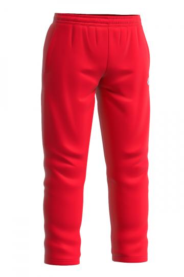 Мужские спортивные брюки PROSМужские спортивные брюки<br>Тренировочные брюки унисекс. Эластичный пояс с тесьмой внутри. Спереди карманы. Низ брюк с регулировкой обхвата.<br><br>Размер: S<br>Цвет: Красный
