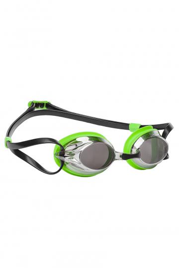 Тренировочные очки для плавания SPURT MirrorТренировочные очки<br>Удобные очки SPURT от Mad Wave отлично послужат прекрасным дополнением к частым тренировкам в бассейне. Превосходная посадка, обеспеченная высоким обтюратором и двойным силиконовым ремешком, надежно защитит глаза от протекания и повысит комфорт в использовании. Зеркальные линзы с защитой от ультрафиолета UV 400 и покрытием от запотевания Антифог. 4 сменные носовые перемычки.<br><br>Размер: None<br>Цвет: Зеленый
