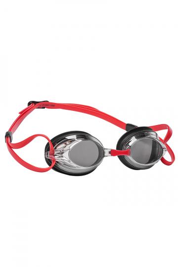 Тренировочные очки для плавания SPURT MirrorТренировочные очки<br>Удобные очки SPURT от Mad Wave отлично послужат прекрасным дополнением к частым тренировкам в бассейне. Превосходная посадка, обеспеченная высоким обтюратором и двойным силиконовым ремешком, надежно защитит глаза от протекания и повысит комфорт в использовании. Зеркальные линзы с защитой от ультрафиолета и покрытием от запотевания Антифог. 4 сменные носовые перемычки.<br><br>Цвет: Красный