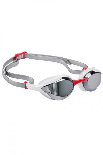 Тренировочные очки для плавания ALIEN MirrorТренировочные очки<br>Очки ALIEN сочетают в себе агрессивный дизайн профессиональных стартовых очков Mad Wave, а также удобство лучших очков для тренировок. Широкий и мягкий обтюратор минимизирует нагрузку на глаза, а инновационная эргономичная конструкция обеспечивает превосходную посадку и удобство в использовании. Линзы с защитой от ультрафиолета и покрытием от запотевания Антифог.<br><br>ОСОБЕННОСТИ:<br><br><br> Агрессивный дизайн - позволяет полноценно сосредоточиться на победе;<br> Зеркальное покрытие линз - усовершенствованный дизайн и дополнительная защита от бликов;<br> Особая конструкция линз - ультраширокий боковой обзор;<br> Эргономичный обтюратор - обеспечивает максимальный комфорт и надежность даже при длительном использовании;<br>4 сменные носовые перемычки - очки подходят для любого типа лица;<br>Защита UV - надежная защита от ультрафиолета;<br>Покрытие Антифог - надежная защита от запотевания.<br><br>Цвет: Красный