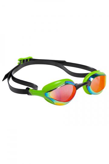 Тренировочные очки для плавания ALIEN RainbowТренировочные очки<br>Очки ALIEN сочетают в себе агрессивный дизайн профессиональных стартовых очков Mad Wave, а также удобство лучших очков для тренировок. Широкий и мягкий обтюратор минимизирует нагрузку на глаза, а инновационная эргономичная конструкция обеспечивает превосходную посадку и удобство в использовании. Линзы с защитой от ультрафиолета и покрытием от запотевания Антифог.<br><br>ОСОБЕННОСТИ:<br><br><br> Агрессивный дизайн - позволяет полноценно сосредоточиться на победе;<br> Покрытие Rainbow - усовершенствованный дизайн и дополнительная защита от бликов;<br> Особая конструкция линз - ультраширокий боковой обзор;<br> Эргономичный обтюратор - обеспечивает максимальный комфорт и надежность даже при длительном использовании;<br>4 сменные носовые перемычки - очки подходят для любого типа лица;<br>Защита UV - надежная защита от ультрафиолета;<br>Покрытие Антифог - надежная защита от запотевания.<br><br>Цвет: Зеленый