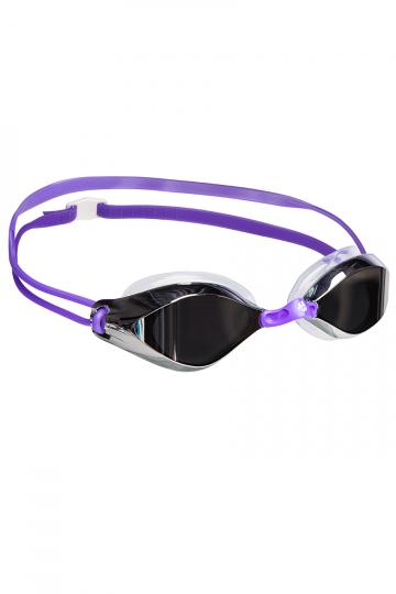 Тренировочные очки для плавания VISION II MirrorТренировочные очки<br>Стильные очки с зеркальными линзами для спорта и отдыха.<br>Двойной силиконовый ремешок круглого профиля помогает избежать перекручивания.<br>Защита от ультрафиолетовых лучей. Антизапотевающие стекла.<br>Линзы из поликарбоната. Сменные переносицы из нейлона<br>(3 размера). Оправа – полиуретан. Мягкий силиконовый обтюратор.<br><br>Цвет: Фиолетовый