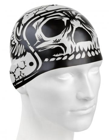 Силиконовая шапочка для плавания HARD HATСиликоновые шапочки<br>Силиконовая шапочка с рисунком.<br><br>Цвет: Серый