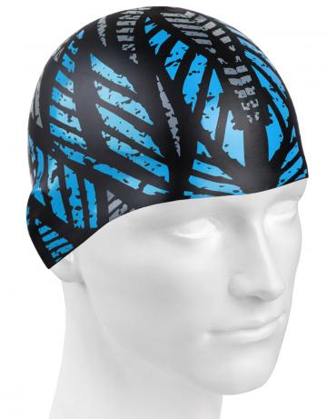 Силиконовая шапочка для плавания CRYSTALСиликоновые шапочки<br>Силиконовая шапочка изготовлена из прочного гладкого силикона. Отличается высокой эластичностью, легко надевается,  благодаря чему подходит как взрослым так и подросткам от 10 лет. Плотно облегает голову, оставляя волосы относительно сухими, при этом не электризует волосы, не тянет и не выдирает их.   Надежно защищает волосы и кожу головы от воздействия хлорированной воды в бассейне, обеспечивает безопасность во время плавания, защищая от попадания волос в глаза и под детали очков или купальника.<br><br>Цвет: Синий
