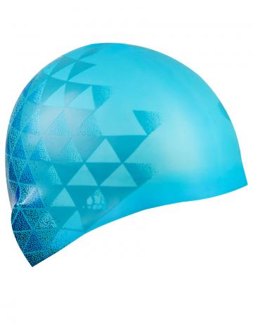 Силиконовая шапочка для плавания MATRIXСиликоновые шапочки<br>Силиконовая шапочка изготовлена из прочного гладкого силикона. Отличается высокой эластичностью, легко надевается,  благодаря чему подходит как взрослым так и подросткам от 10 лет. Плотно облегает голову, оставляя волосы относительно сухими, при этом не электризует волосы, не тянет и не выдирает их.   Надежно защищает волосы и кожу головы от воздействия хлорированной воды в бассейне, обеспечивает безопасность во время плавания, защищая от попадания волос в глаза и под детали очков или купальника.<br><br>Цвет: Голубой