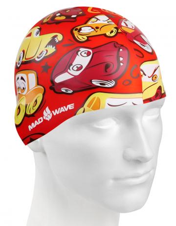 Силиконовая шапочка для плавания CARSСиликоновые шапочки<br>Детская силиконовая шапочка  CARS  - детская модель шапочки. Такая шапочка без сомнений понравится ребенку и сделает его заметным на воде издалека. Шапочка изготовлена из качественного силикона и подходит для всех видов занятий плаванием. Силикон - гипоаллергенный материал, не вызывает зуда и раздражения, а это особенно важно для чувствительной детской кожи. Шапочка сохраняет высокую эластичность и яркость на протяжении всего срока службы.<br><br>Цвет: Красный