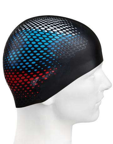 Силиконовая шапочка RUS