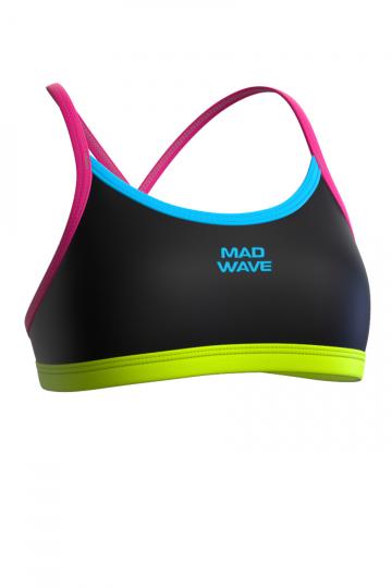 Спортивный купальник для плавания FRISKY TopСпортивные купальники<br><br><br>Размер INT: XS<br>Цвет: Черный