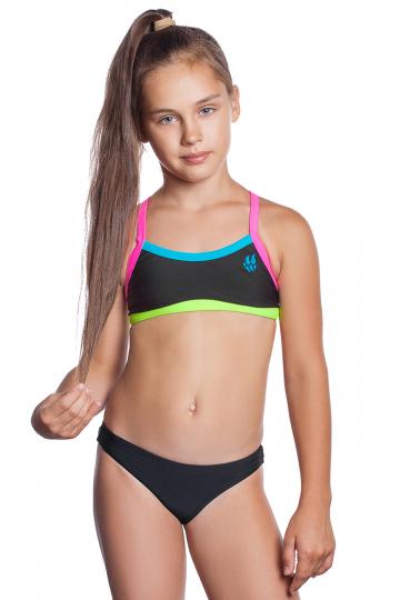 Детский купальник FRISKY JR TopЮниорские купальники<br><br><br>Размер INT: XXL<br>Цвет: Черный