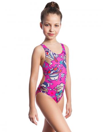 Детский купальник PRETTYДетские купальники<br><br><br>Размер INT: M<br>Цвет: Розовый