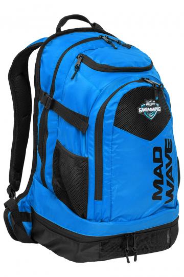 Рюкзак сумка для бассейна LANEРюкзаки и сумки<br>Многофункциональный передний карман с множеством отсеков позволяет упаковать вещи с максимальным удобством, а вместительный задний вентилируемый карман с имеет специальное отделение для ноутбука (до 13') и дает возможность взять с собой даже крупный инвентарь. Фиксаторы лямок на груди и талии позволяют снизить нагрузку на спину и чувствовать себя комфортно, а также предотвратить сползание лямок рюкзака. Наружные эластичные сетчатые боковые карманы обеспечивают быстрый доступ к бутылке с водой или другим предметам первой необходимости, застежка сбоку позволяет пристегнуть вытянутый инвентарь, например, PRO SNORKEL, положив нижнюю часть сноркеля в карман для бутылок. Многофункциональный карабин позволит с легкостью закрепить рюкзак на вешалке. Рюкзак Lane оснащен специальным карманом для медиаустройств, а также имеет большой вентилируемый отсек для обуви, вместительностью до 2-х пар.<br><br>ОСОБЕННОСТИ:<br><br><br>Многофункциональный передний отсек - позволяет упаковать вещи с максимальным удобством, содержит 4 независимых внутренних отсека для очков, текстиля и даже мелкого инвентаря, например, лопаток;<br>Вентилируемый вместительный задний карман - позволяет взять с собой даже крупный инвентарь, сетчатые вставки обеспечивают вентиляцию и контроль уровня влаги;<br>Отсек для медиаустройств - позволяет бережно поместить ваш телефон, плеер или другое медиаустройство в рюкзак;<br>Отсек для обуви - в нижний вентилируемый отсек рюкзака Lane поместится до 2-х пар обуви или даже пара коротких тренировочных ласт;<br>Карабин - многофункциональный карабин позволит с легкостью закрепить рюкзак на вешалке.<br><br>Размер: 54x32x24 см<br>Цвет: Синий