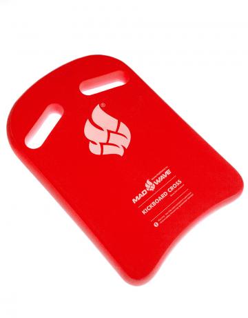 Доска калабашка Kickboard CrossДоски для плавания<br>Высококачественная доска для тренировок.  Специальные вырезы увеличивают плечо захвата и позволяют изменять позицию рук во время тренировок.<br><br>Размер: 38x27<br>Цвет: Красный