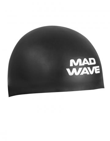 Силиконовая шапочка для плавания D-CAPСиликоновые шапочки<br><br><br>Размер INT: M<br>Цвет: Черный