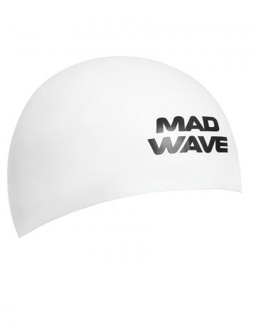 Силиконовая шапочка для плавания D-CAPСиликоновые шапочки<br><br><br>Размер INT: M<br>Цвет: Белый