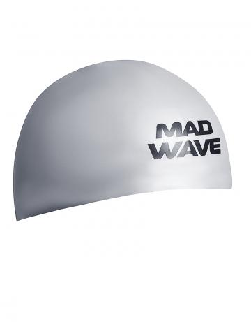 Силиконовая шапочка для плавания D-CAPСиликоновые шапочки<br><br><br>Размер INT: L<br>Цвет: Серебро