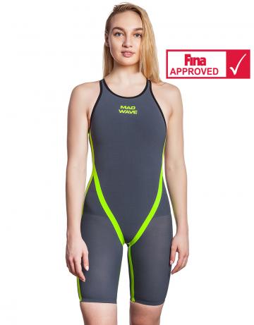 Женский стартовый костюм с закрытой спиной Carbshell 2017 Women full back Racing Suit