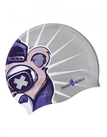 Юниорская силиконовая шапочка SWAG