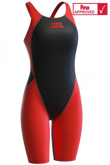 Женский стартовый костюм с открытой спиной MW Revolution women kneeskin swimsuit
