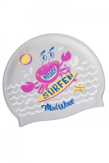 Юниорская силиконовая шапочка SURFER