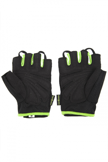 Фитнес тренажер Mens Training GlovesФитнес инвентарь<br>Перчатки для фитнеса сделаны из 100% полиэстера с функцией выведения пота наружу и быстрого высыхания MAD DRY. Область ладони покрыта синтетической кожей для лучшего сцепления с тренировочным оборудованием. В области ладони 4 миллиметровая прослойка для комфорта. Сетчатая структура ткани не препятствует вентиляции руки<br><br>Размер: XXL<br>Цвет: Зеленый